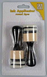 IAP003	ink applicator round (2 applicators + 4 foams)