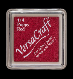 Versacraft inkpad small VK-SML-114 Poppy Red