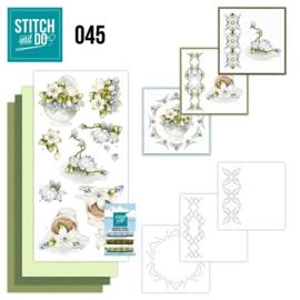 Stitch and Do 45 - Winterflowers