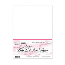 Couture Creations White Adhesive Yupo Paper A4 (250gsm | 10pc)