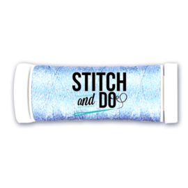 Stitch and Do Sparkles SDCDS16 Embroidery Thread - Soft Blue