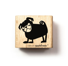 Cats on Appletrees - Stempel - Mops Amadeus