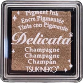 Delicata Champagne Small inkpad DE-SML-196