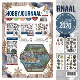 Hobbyjournaal 190 + knipvellenboek The Best of 2020 combinatie