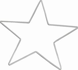Metalen ringen, sterren en vierkanten