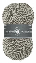 Durable Norwool Plus Bruin wit melee