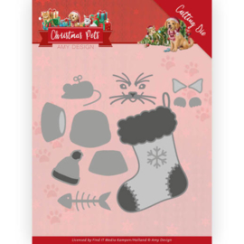 Amy Design - Christmas Pets - Christmas Cat ADD10214