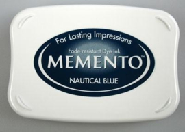 Memento Inkpads	ME-000-607	Nautical blue