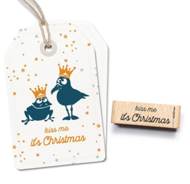 Cats on Appletrees - 27588  - Stempel - Kiss Me It's Christmas
