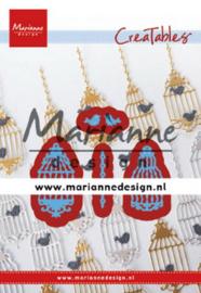 Marianne design Creatables stencil Birdcage (set) LR0640