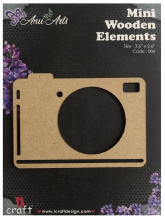 Icraft Mini wooden elements 006 (camera)