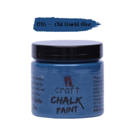 icraft chalk paint 50ml Old World Blue 016