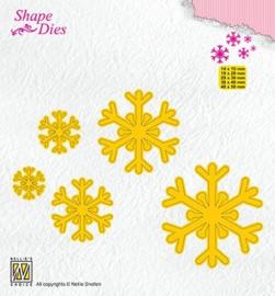 "SD168 Shape Dies ""snowflakes"""