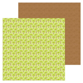 5962: coconut grove double-sided cardstock