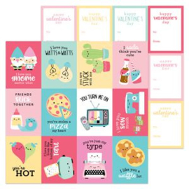 5939: my punny valentine double-sided cardstock