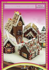 Hobbydols 113 - Gingerbread Village van Fimoklei