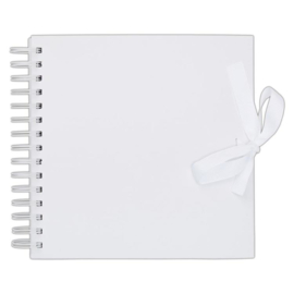 "Papermania 8 x 8"" Scrapbook - White"