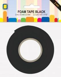 JEJE 3D Foam tape zwart 2mm
