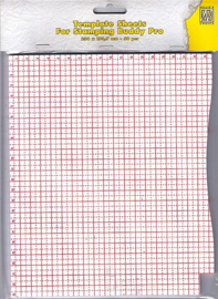 STBP001	Template sheets, 230x193.7mm, 50 pcs