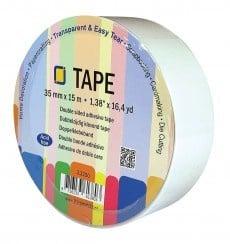JEJE Dubbelzijdig klevend tape rol 35mm (3.3220)