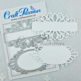 Craft passion Set of Craft Dies decorative banners