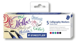Staedler calligraphy markers