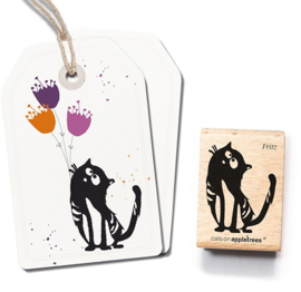 Cats on Appletrees - Stempel - Kater Fritz