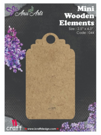 Icraft Mini wooden elements fridge magnet-044