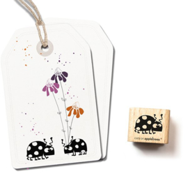 Cats on Appletrees - 2566 - Stempel - Lieveheersbeestje Lise