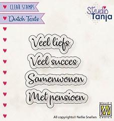 "Nellie Snellen - DTCS024 - Dutch Texts - ""Veel Liefs etc..."""