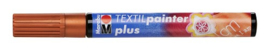 Marabu Textil painter - plus punt 3 mm - Koper