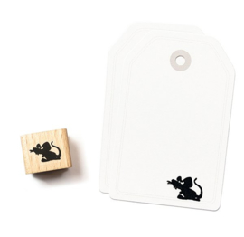 Cats on Appletrees - 2145 - Stempel - Muis Philippe