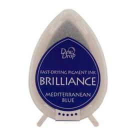 BD-000-018 Mediterranean Blue brillance Dew drops