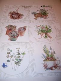 3D Knipvel - Marianne Design - Herbs & Leaves EWK1254