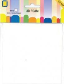 3D Foam blokjes JEJE 5mm x 5mm x 0,5mm