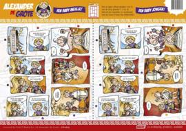3D Knipvel - Alexander de Grote - Een baby meisje & baby jongen!  CD10625