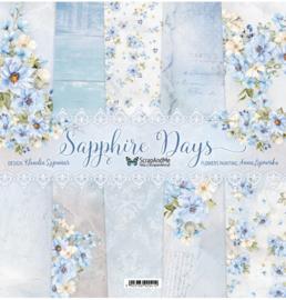Designpapier - S&M - Sapphire Days - 30,5x30,5