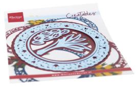 Marianne Design - Creatables - Tulp Doily LR0654