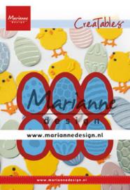 Marianne design Creatables stencil Easter eggs lr0643