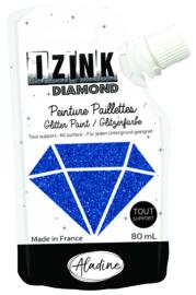 IZINK Diamond glitterverf/pasta - 80 ml, marineblauw - 80820