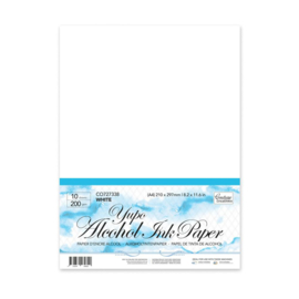 Couture Creations White Yupo Paper A4 (200gsm | 10pc)