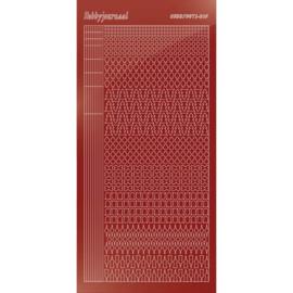 Hobbydots sticker - Mirror Red