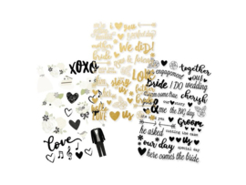 Simply Stories - Always & Forever Clear stickers 10076