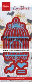 Marianne design Creatables stencil Birdcage (L) LR0639