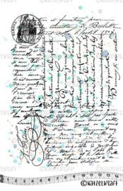 Katzelkraft - Big Script - Rubber stamps - KTZ251
