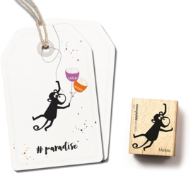 Cats on Appletrees - 2541 - Stempel - Aap Malou