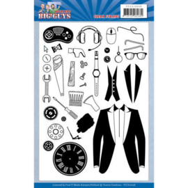 Yvonne Creations  - Clear Stamps - Big Guys - Workers YCCS10058