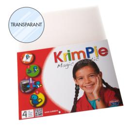 Collall Krimpie - Magic Plastic transparant 4 Vellen COLKPTR4