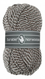 Durable Norwool Plus Donker Grijs wit melee