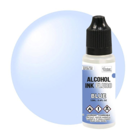 Couture Creations Alcohol Ink FLURO Blue